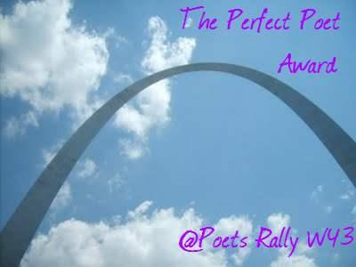 """Winner! """"The Perfect Poet Award 4 Poets"""" Week 43"""