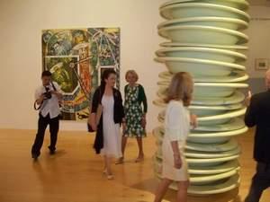 peng at art museum