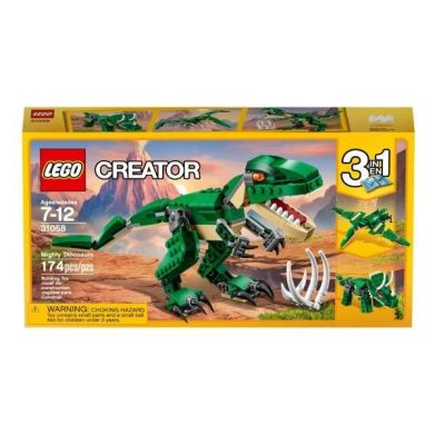 lego dinosaur set 174 pieces built by sheng wu